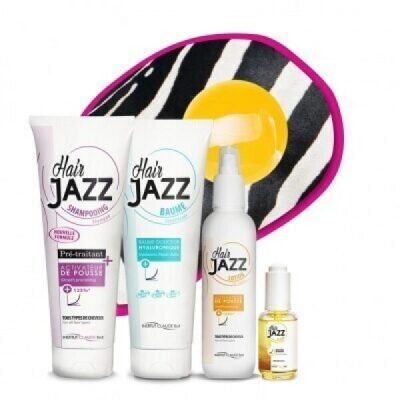HAIR JAZZ Lotion & šampon + serum + kondicionér s kyselinou hyaluronovou HAIR JAZZ
