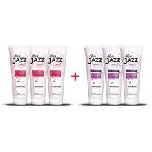 Trojitá sada Hair Jazz - Speciální nabídka 3 kondicionérů + 3 šamponů