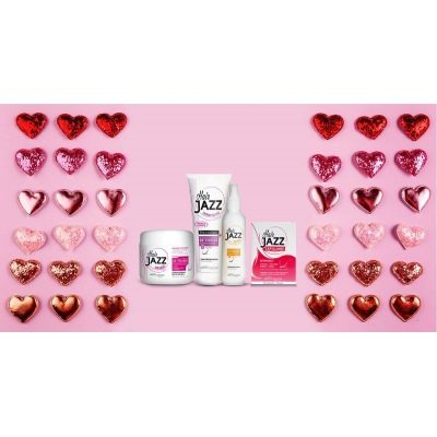 HAIR JAZZ Lotion & šampon + maska + vitaminy  - Valentýn