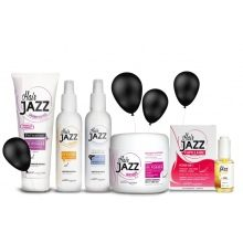 HAIR JAZZ Lotion & šampon + maska + sérum + vitaminy + tepelena ochrana Hair Jazz
