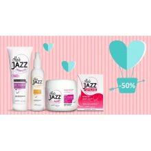 HAIR JAZZ Lotion & šampon + maska + vitaminy  - Valentýn