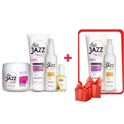 HAIR JAZZ Lotion & šampon + maska + sérum + prezent na Vánoce